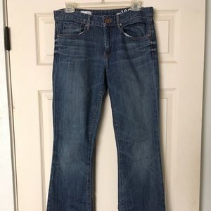 Perfect Boot Gap Mid Rise Jeans
